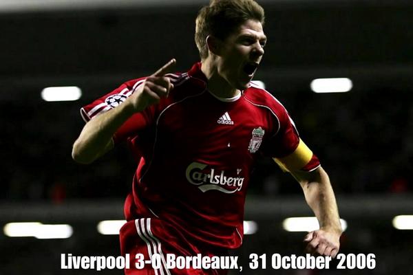 31/10/2006: Νίκη με 3-0 απέναντι στην Bordeaux
