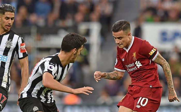 Ισοπαλία μεταξύ Liverpool και Newcastle στο St. James Park