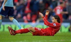 Ο Lazar Marković με τα χρώματα της Liverpool.