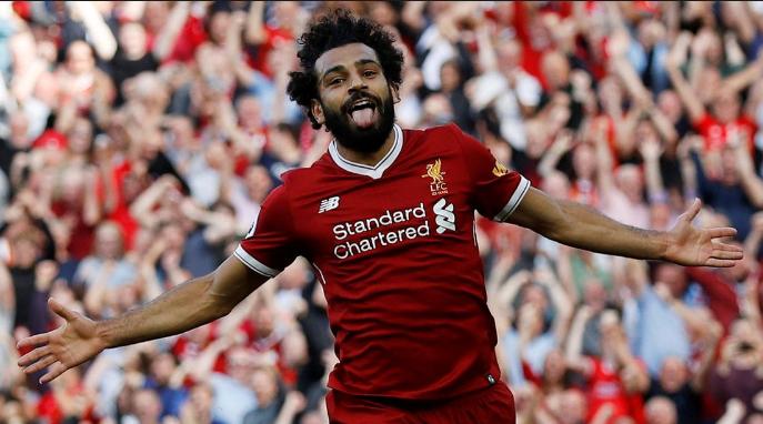 Πανηγυρισμός του Mohamed Salah.