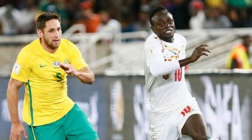 Ο Sadio Mane σε φάση από παιχνίδι της Σενεγάλης.