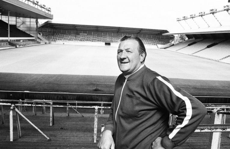 Ο πρώην προπονητής της Liverpool, Bob Paisley.