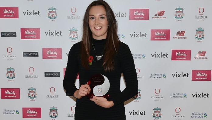 Η νικήτρια του βραβείου, Caroline Weir