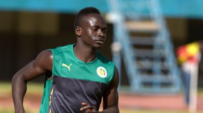 Ο Sadio Mane με τη Σενεγάλη