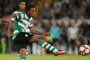 O Gelson Martins εν δράσει με τη Sporting