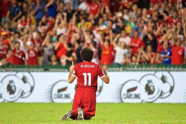 Πανηγυρισμός από τον Salah