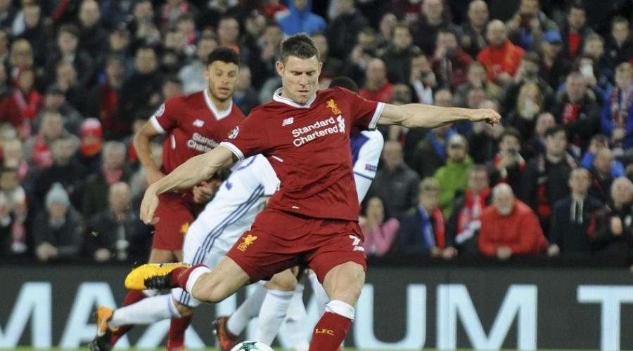 Εξαιρετικές οι επιδόσεις του Milner στο φετινό Champions League