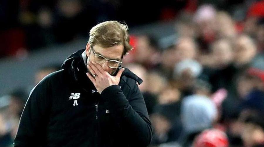 Ο Jurgen Klopp ήταν εμφανώς απογοητευμένος από την όλη εικόνα της Liverpool