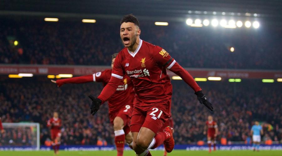 Liverpool εναντίον Manchester City, ο Oxlade Chamberlain ανοίγει το σκορ