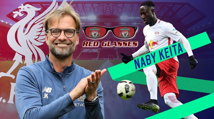Ο Naby Keita το θέμα των Red Glasses