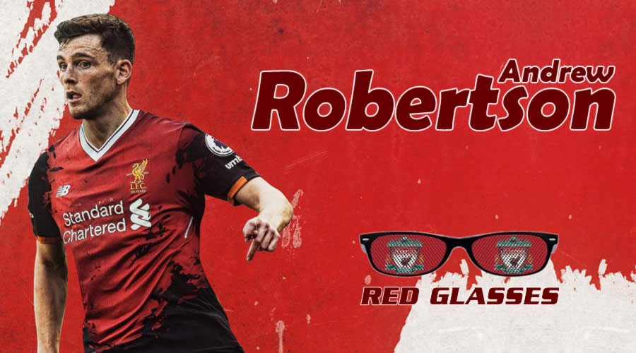 O Andrew Robertson είναι το θέμα της εκπομπής Red Glasses