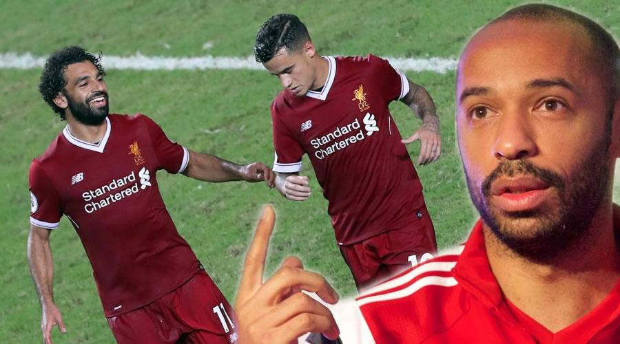 O Henry συγκρίνει Salah και Coutinho