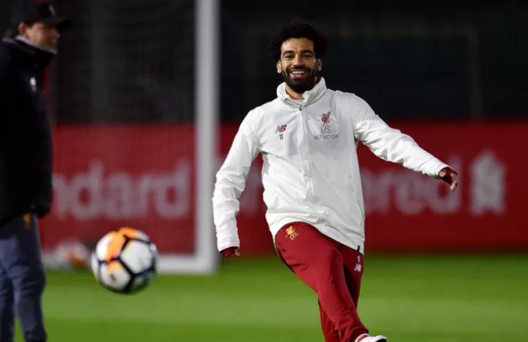 O Salah είναι ευτυχισμένος στο Anfield.