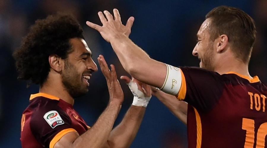 Salah και Totti στην Roma.