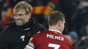 Ο James Milner στοχεύει στη νίκη με κάθε τρόπο.