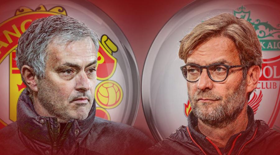 Η δεύτερη United του Mourinho υποδέχεται την τρίτη Liverpool του Klopp