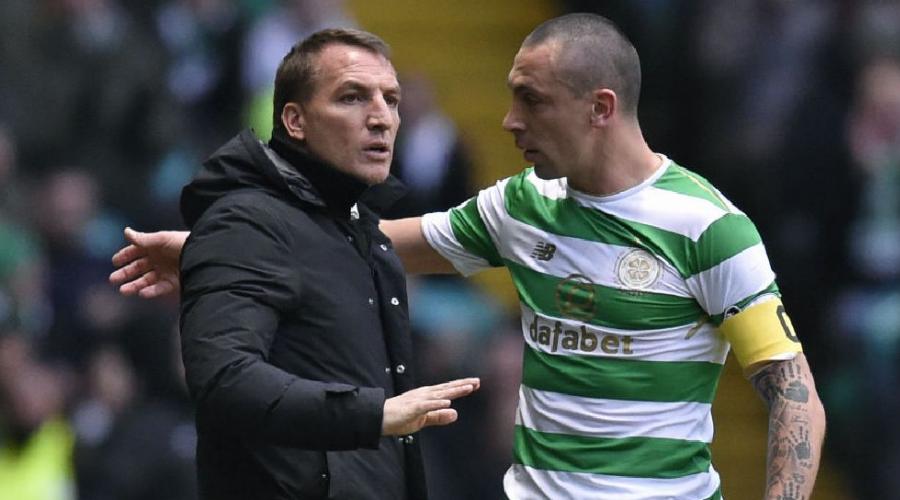 O Brendan Rodgers, τεχνικός της Celtic.