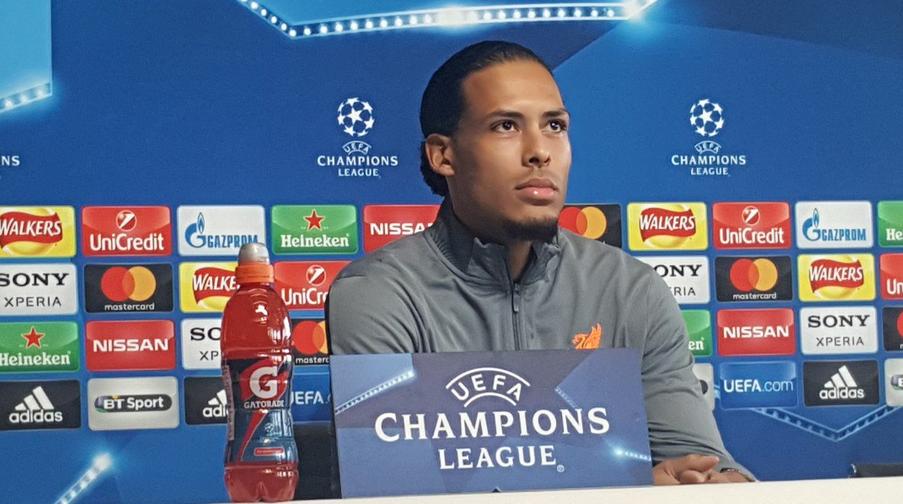 Για την επίδραση του συλλόγου μίλησε ο Van Dijk.