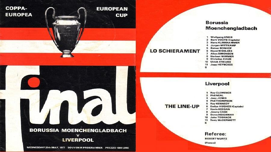Liverpool vs Borrusia Monchengladbach