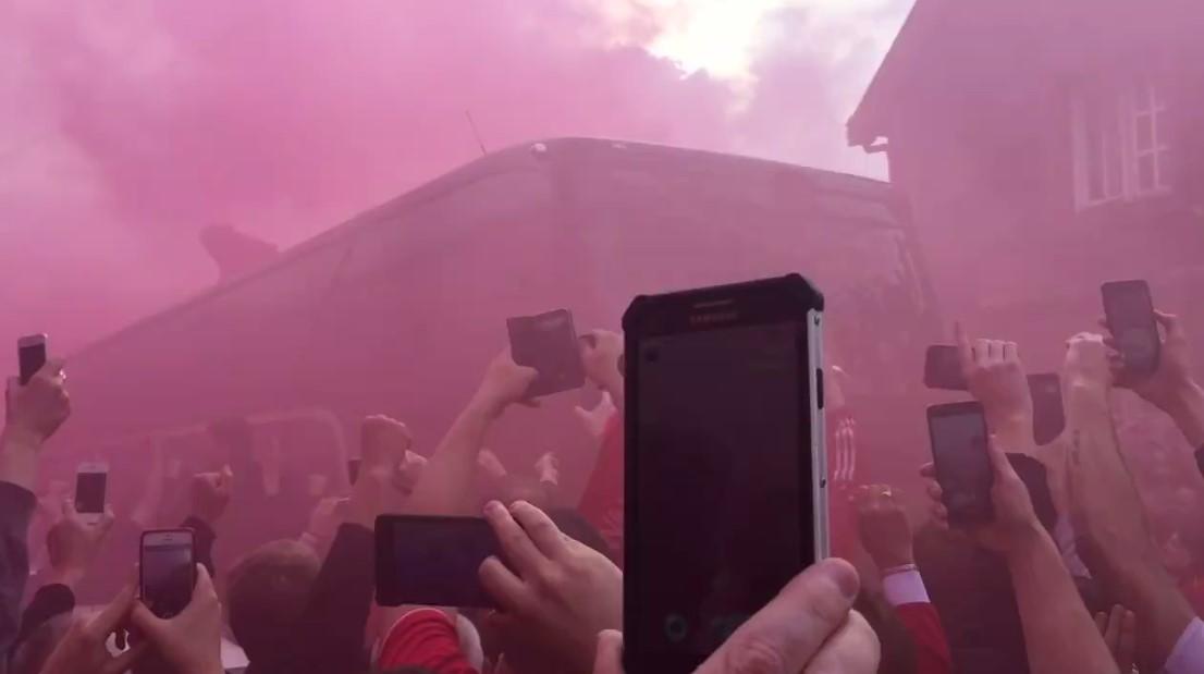 Liverpool vs Villarreal 3-0 (5.5.2016), είμασταν στην υποδοχή των Reds