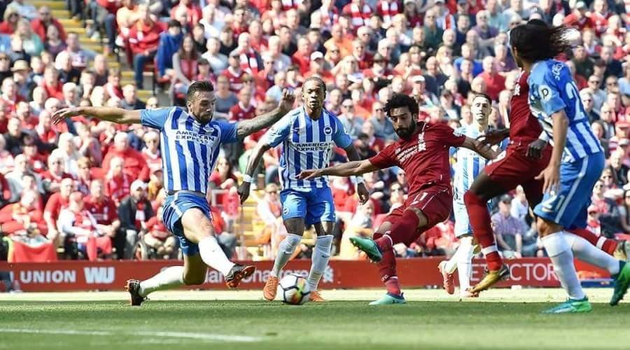 Η στιγμή που ο Salah σπάει το ρεκόρ.