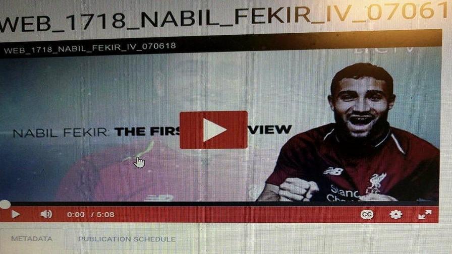 Ασαφής παρουσιάστηκε ο Fekir για το μέλλον του.