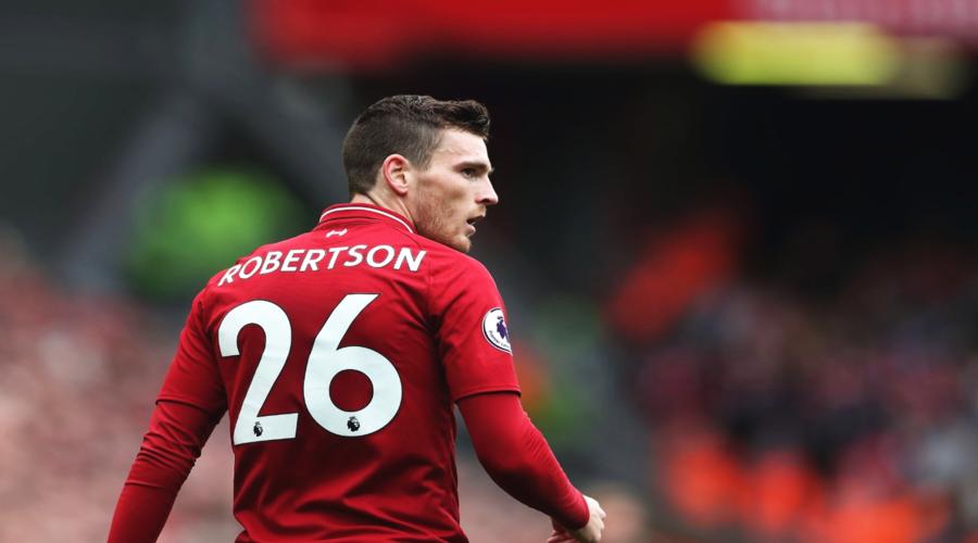 Το αρμονικό κλίμα στα αποδυτήρια της Liverpool τόνισε ο Andy Robertson.