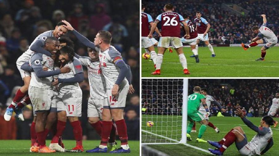 Burnley vs Liverpool 1-3: Νίκη με χαρακτήρα