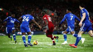 Το χιονισμένο Anfield στο παιχνίδι της Liverpool με τη Leicester City την περασμένη Τετάρτη!