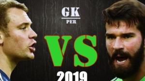 Alisson Becker vs Manuel Neuer θα είναι η μάχη των goalpost στο Anfield την ερχόμενη Τρίτη.