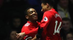 Ιδού οι Anthony Martial και Jesse Lingard, οι οποίοι θα απουσιάσουν από το παιχνίδι του Old Trafford ανάμεσα στη Manchester United και τη Liverpool την μεθεπόμενη Κυριακή.
