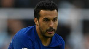 O Pedro με τη φανέλα της Chelsea.