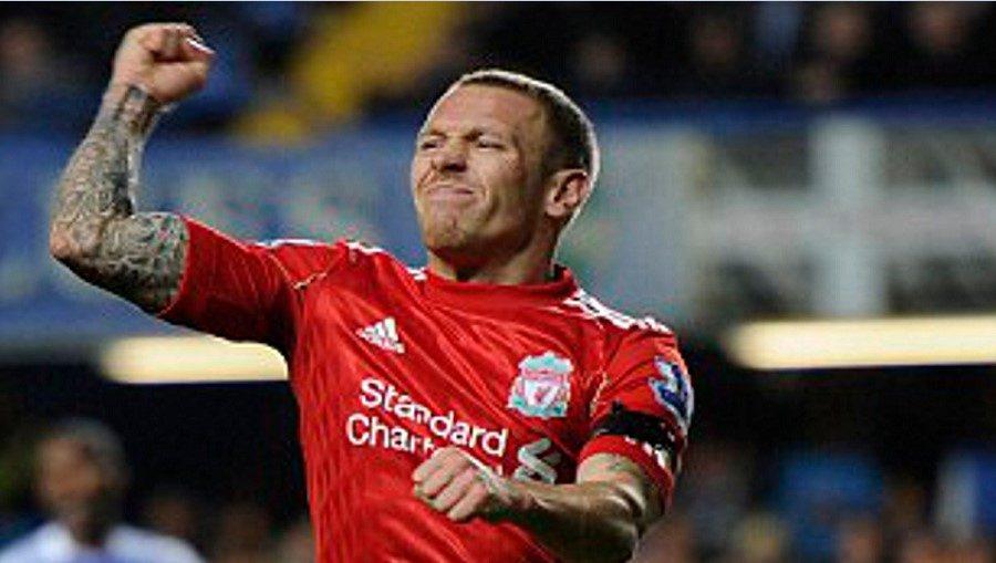 O Craig Bellamy με τη φανέλα της Liverpool
