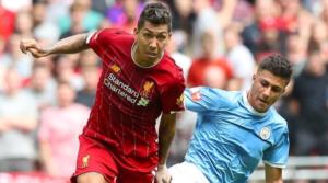 O Rodri εναντίον της Liverpool στο Community Shield τον περασμένο Αύγουστο.