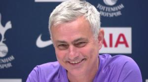 Κεφάτος ο Jose Mourinho στη συνέντευξη τύπου εν όψει του αγώνα της ομάδας του εναντίον της Liverpool.