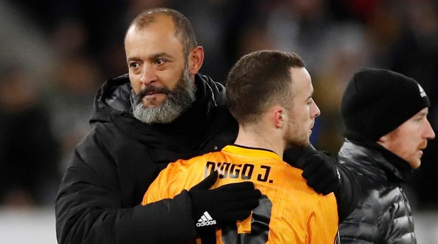 Nuno Espirito Santo και Diogo Jota στη Wolves.