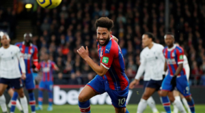 O Andros Townsend στο περσινό Crystal Palace-Liverpool.