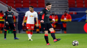 O Andy Robertson στη Βουδαπέστη.