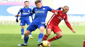 O Thiago Alcantara εν δράσει με τα κόκκινα της Liverpool.