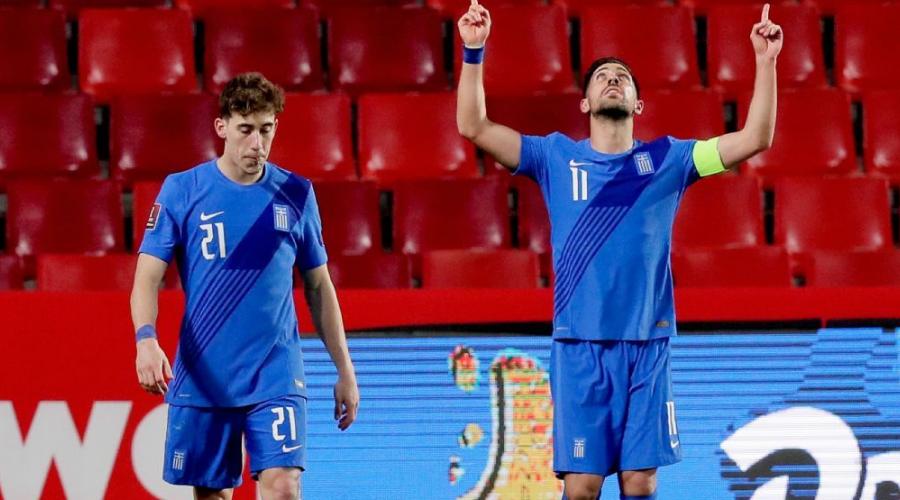 """O Κώστας Τσιμίκας και ο Thiago """"εκπροσώπησαν"""" τη Liverpool στο χθεσινό Ισπανία-Ελλάδα."""
