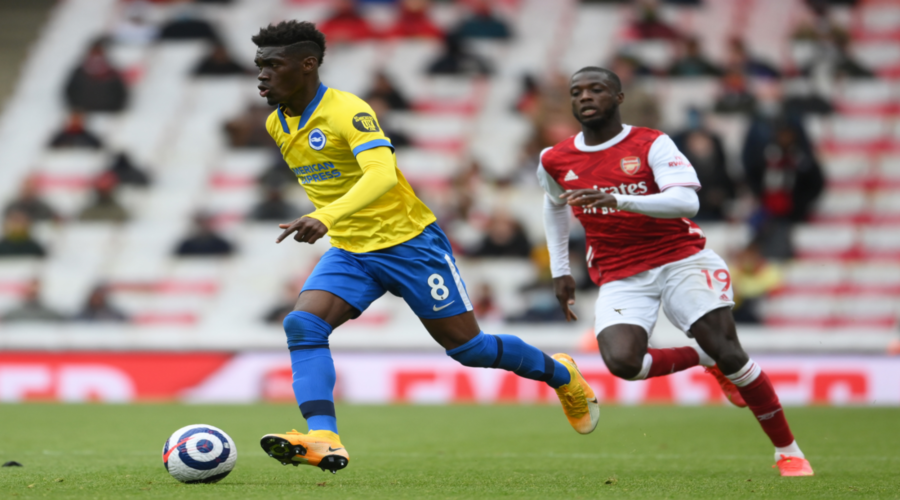 Liverpool και Arsenal φέρονται να ενδιαφέρονται για τον Yves Bissouma.