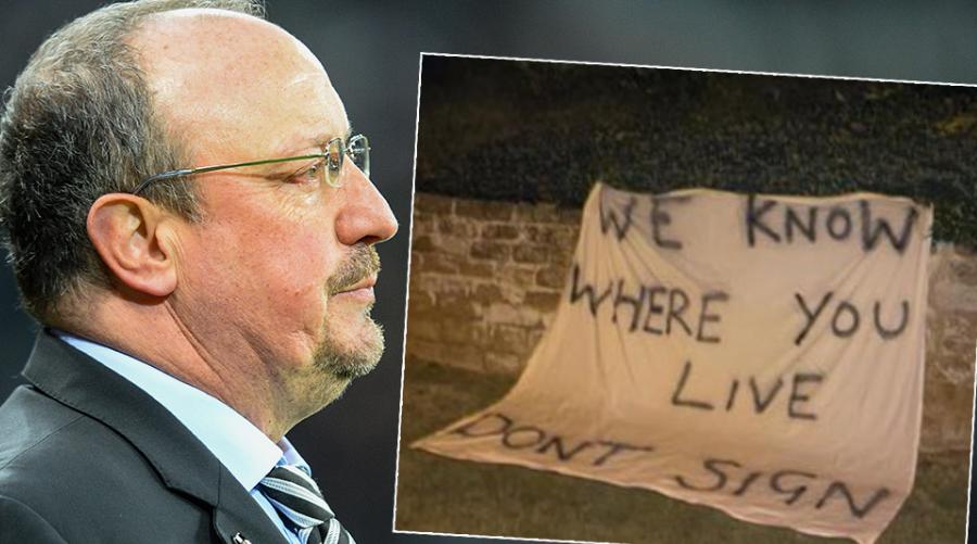 Οι πρώτες αρνητικές αντιδράσεις στο ενδεχόμενο πρόσληψης του Rafa Benitez από την Everton πριν λίγο καιρό,
